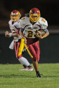 Menlo Atherton High School Varsity Football vs. King's Academy 2011-10-14