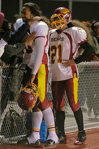 Menlo Atherton High School Varsity Football vs.Terra Nova 2011-11-04