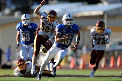 CSS Division 1 Championship Game, Menlo Atherton High School Varsity Football vs. Junipero Serra High 2011-12-03