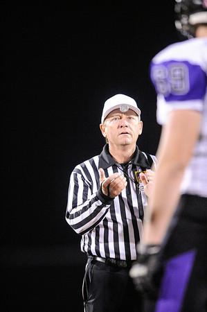 Menlo-Atherton High School Varsity Football vs. Sequoia High, 2012-11-16