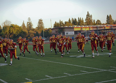 Menlo Atherton High School Varsity Football vs. St. Ignatius High School 2011-09-16