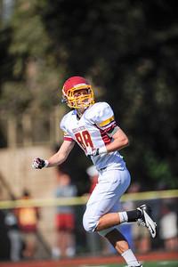 Menlo Atherton High  Bears Varsity Football vs. Sacred Heart Gators, 2012-10-27