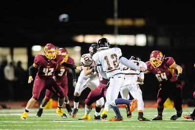 Menlo Atherton Varsity Football vs. Woodside High School, 2012-11-09