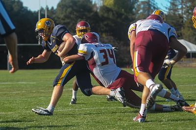 Menlo Atherton Varsity Football vs. Menlo School, 2014-10-24