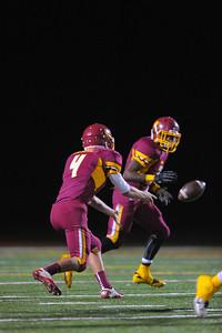 Menlo Atherton Varsity Football vs. Menlo School 2013-11-08