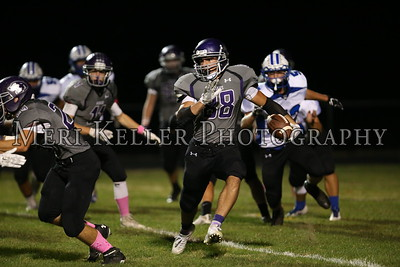 Middletown vs Mt Hope Football Varsity 10.6.17
