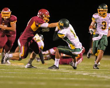 Menlo Atherton Varsity Football vs. Monterey High School 2015-09-25