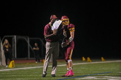 Menlo-Atherton Varsity Football vs. Sacred Heart Prep 2015-10-23