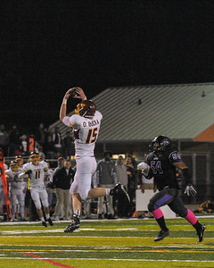 Menlo Atherton Varsity Football Vs. Sequoia High School, 2013-10-25
