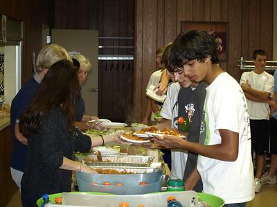 2010 JV - Freshman Team Dinner 019