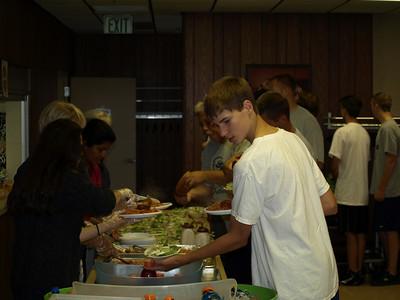 2010 JV - Freshman Team Dinner 017