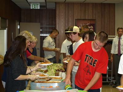 2010 JV - Freshman Team Dinner 016