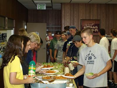 2010 JV - Freshman Team Dinner 023