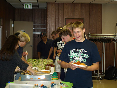 2010 JV - Freshman Team Dinner 014