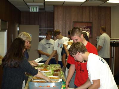 2010 JV - Freshman Team Dinner 015