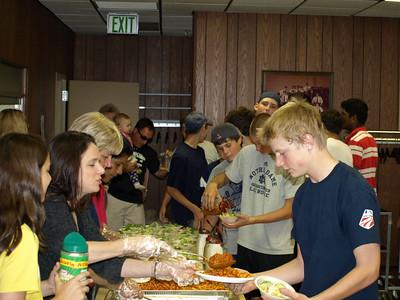 2010 JV - Freshman Team Dinner 022