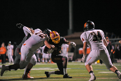Menlo-Atherton Varsity Football vs. Woodside High, November 4,  2016