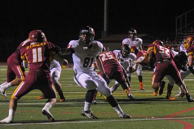 Woodside High vs. M-A Varsity Football, 2014-11-14