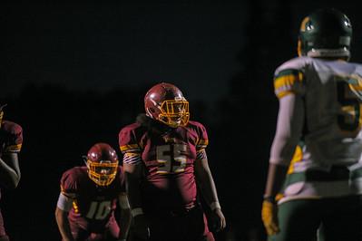 Menlo Atherton Football vs. Monterey High School 2015-09-25