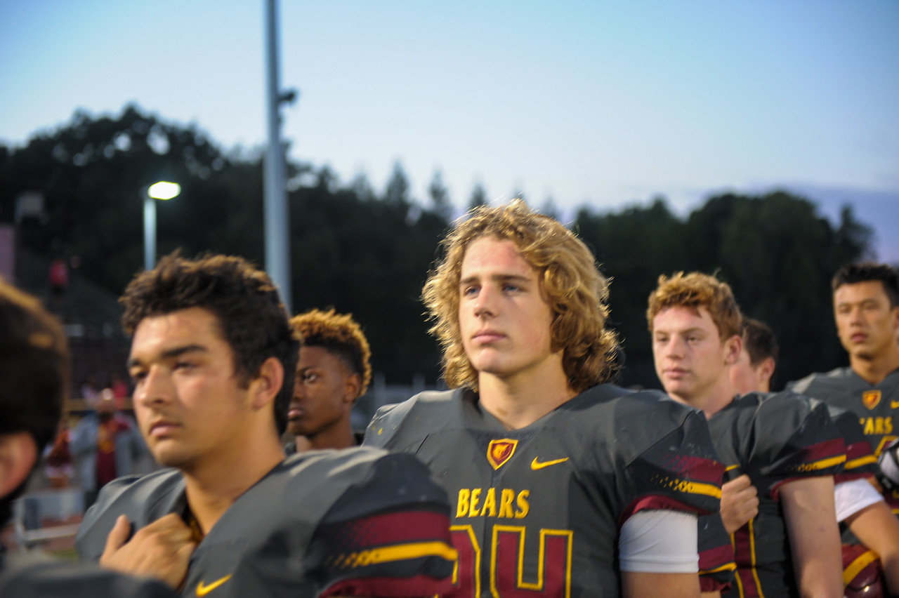 Menlo Atherton Spirit vs. Terra Nova High School, 2016-09-30.