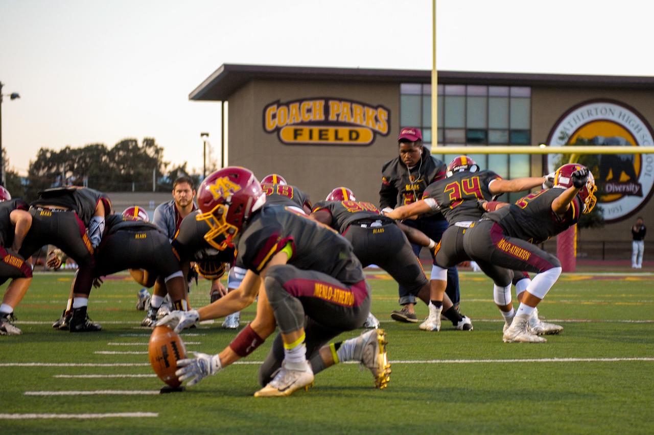 Menlo Atherton Varsity Football vs. Terra Nova High School, 2016-09-30.