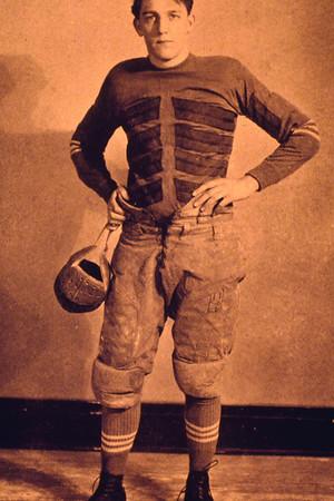 Art Ungerer, Captain of UB Varsity Football team, 1927-1928 season