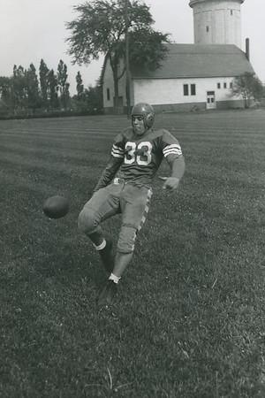 Lou Corriere, University at Buffalo football, 1942.