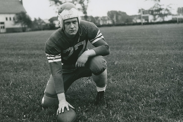 "Harold ""Bud"" Houser, University at Buffalo football, 1942."