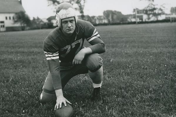 "Harold ""Bud"" Houser, University at Buffalo football, 1942."