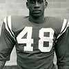 Willie Evans, halfback, 1958 University at Buffalo football.