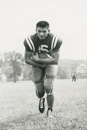 Gordon Bukaty, University at Buffalo football, 1959 team captain.
