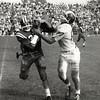Youngstown State at Buffalo on October 15, 1960. Buffalo won 40-13.