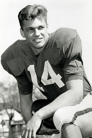Mick Murtha, quarterback, University at Buffalo football, 1965-1969.