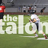The Eagles football team practices during 2-A-Days on the AHS field in Argyle, Texas, on August 8, 2018. (Andrew Fritz / The Talon News)