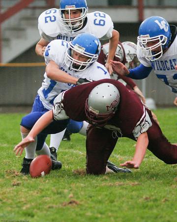 Montesano High School 9th grade vs. LaCenter High School 9th grade, September 27, 2007