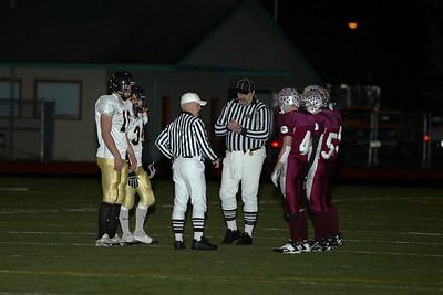 Montesano High School vs. Meridian High School, varsity, November 17, 2007,  played at Tumwater stadium