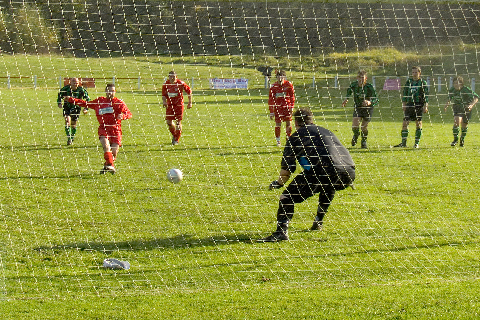 Colin Smith opens the scoring