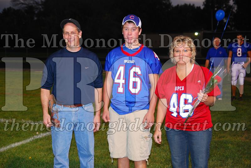 Spartans FB Senior Night 10-10-08 012