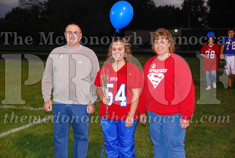 Spartans FB Senior Night 10-10-08 005