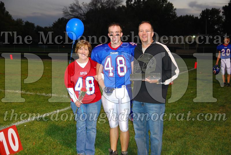 Spartans FB Senior Night 10-10-08 008