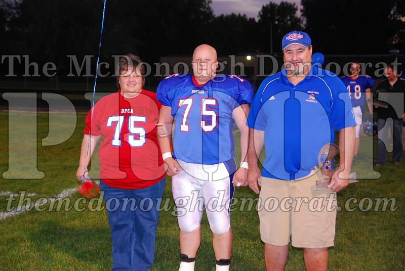 Spartans FB Senior Night 10-10-08 007