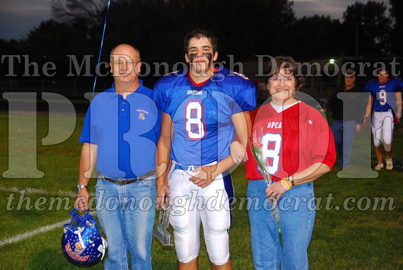 Spartans FB Senior Night 10-10-08 013