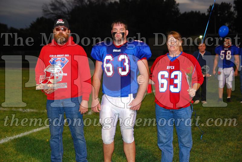 Spartans FB Senior Night 10-10-08 016