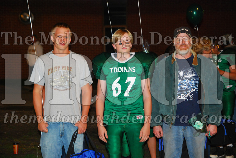 Trojans FB 8th Grade Night 10-14-08 014