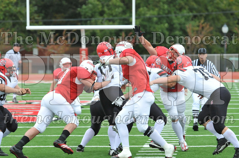 Monmouth Coll Defeats Grinnell Coll 59-0 10-03-09 032