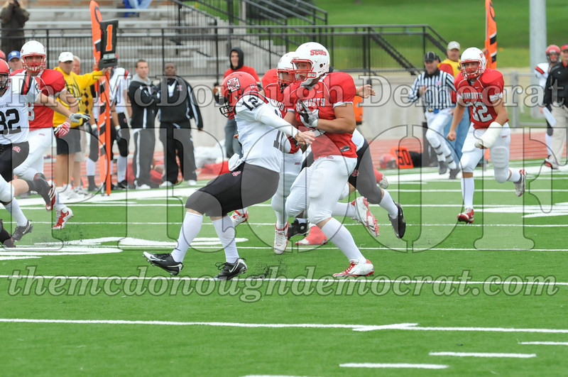 Monmouth Coll Defeats Grinnell Coll 59-0 10-03-09 050