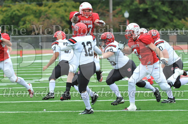 Monmouth Coll Defeats Grinnell Coll 59-0 10-03-09 030