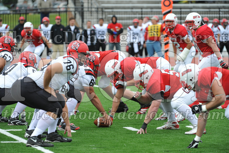 Monmouth Coll Defeats Grinnell Coll 59-0 10-03-09 011