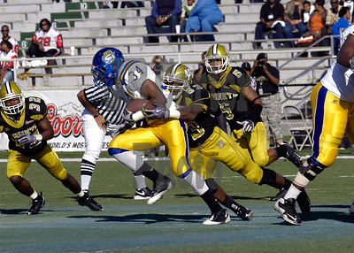 Southern University vs. Alabama State University. 11/14/2009 Mobile, AL