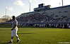 football; Blue-White scrimmage